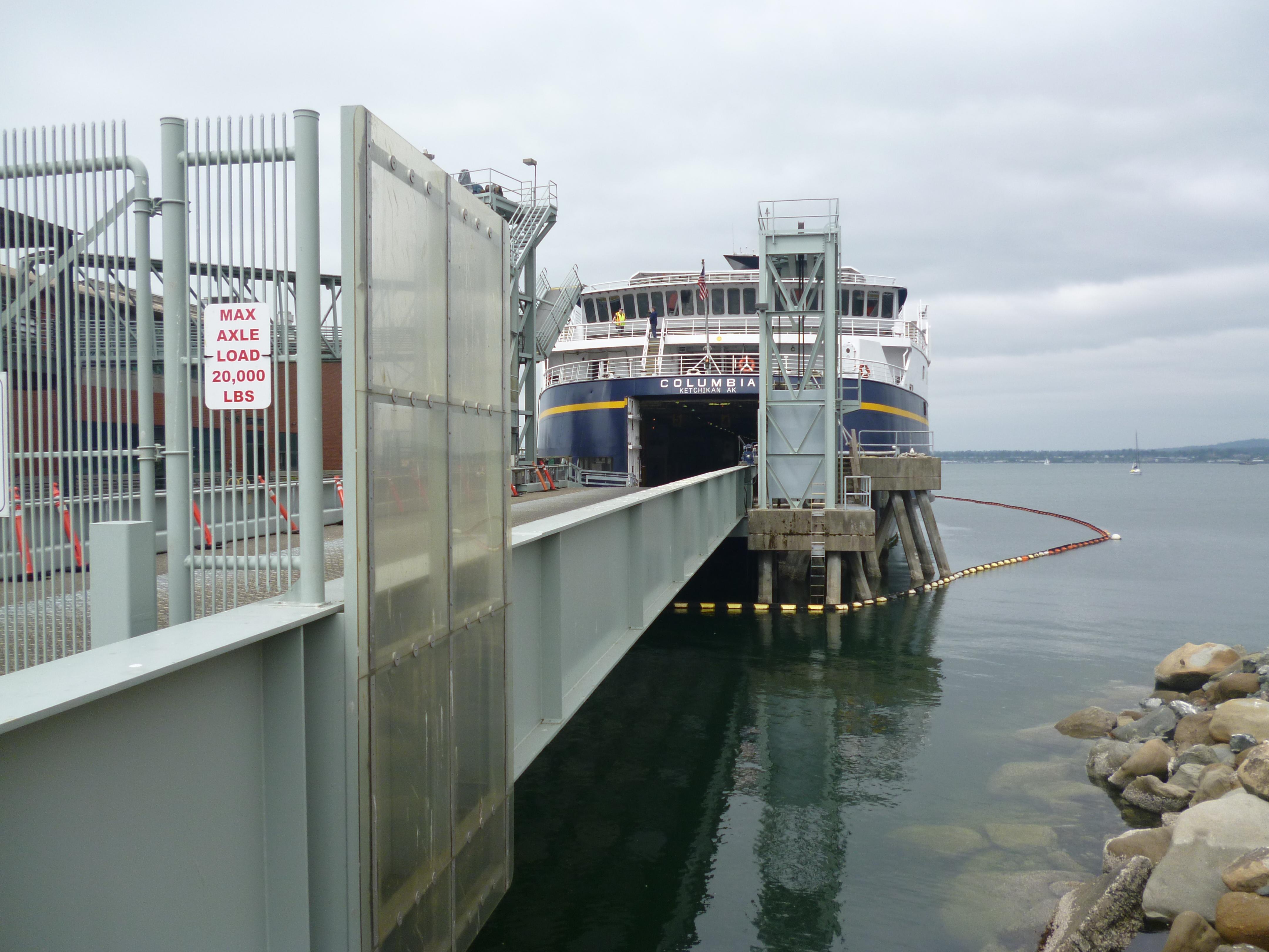 Northbound Alaskan Ferry   ultimatecampsite